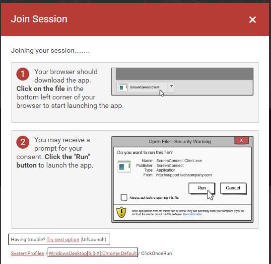Re-enable activeX default client / Feature Request Portal