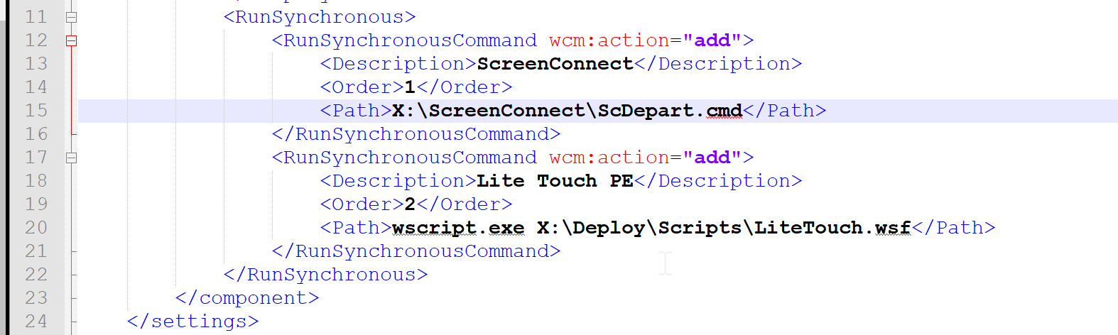 Add ability to run ScreenConnect in WinPE / Feature Request
